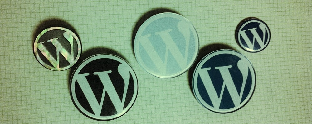 wordpress badge